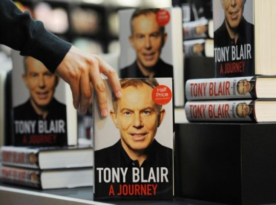 Rivals have blasted Tony Blair's book for having a 'self-pitying' tone