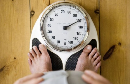 Rotund: 2.5 million men are too fat to see their own penis, a study has revealed