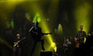 Coldplay wowed the Glastonbury crowd (PA)