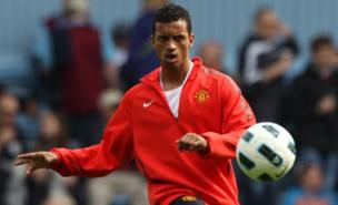 Nani is set to leave Manchester United (PA)
