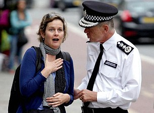 Commissioner Hogan-Howe hits the streets (AFP/Getty Images)