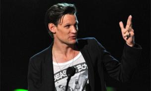 Matt Smith was honoured for Doctor Who (Getty Images)