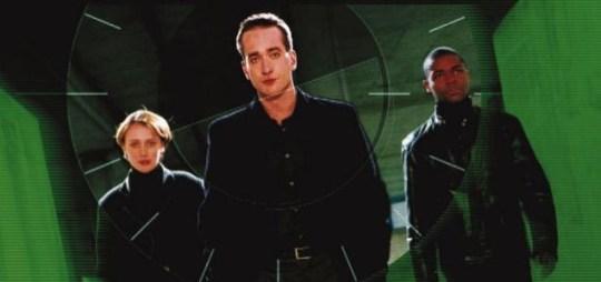 Matthew Macfadyen (centre) as Tom Quinn in Spooks. (Picture: BBC)