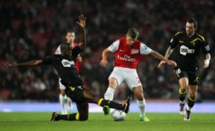 Andrey Arshavin is still an Arsenal player (PA)